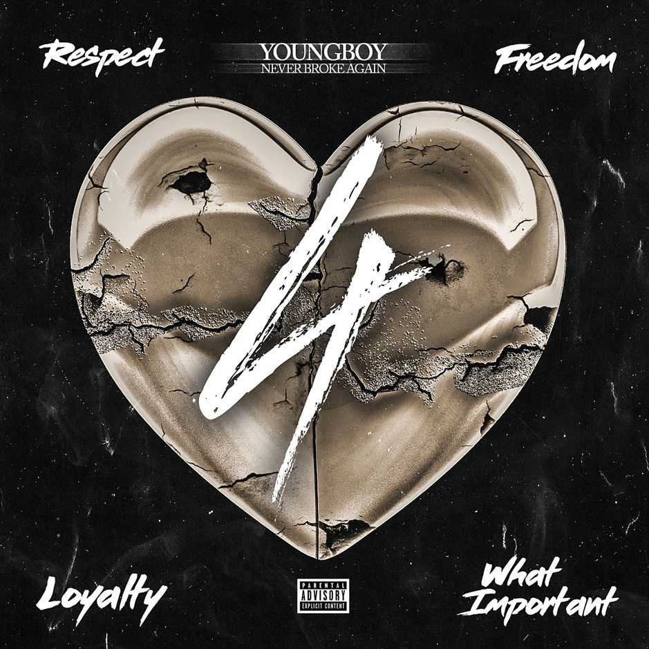ALBUM: YoungBoy Never Broke Again - 4Respect 4Freedom 4Loyalty 4WhatImportant