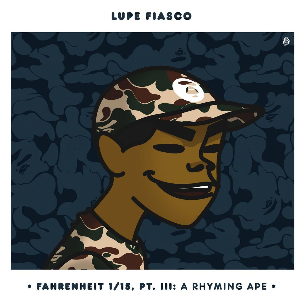 ALBUM:Lupe Fiasco - Fahrenheit 1/15 (Part III - A Rhyming Ape)