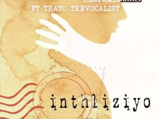 Stash Da Groovyest - Inhliziyo Ft, Benjamin Bliss & Thato The Vocalist