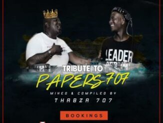 Thabza 707 – Tribute Mix To Papers 707
