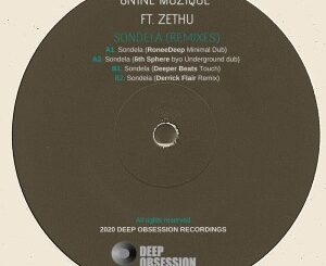 8nine Muzique - Sondela (Remixes) Ft. Zethu