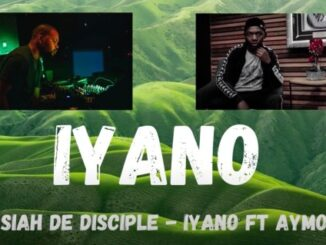 Josiah De Disciple – IYANO (Live Mix) Ft. Aymos